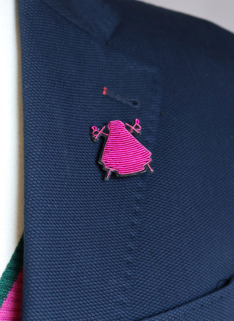 Pink Capote Brooch