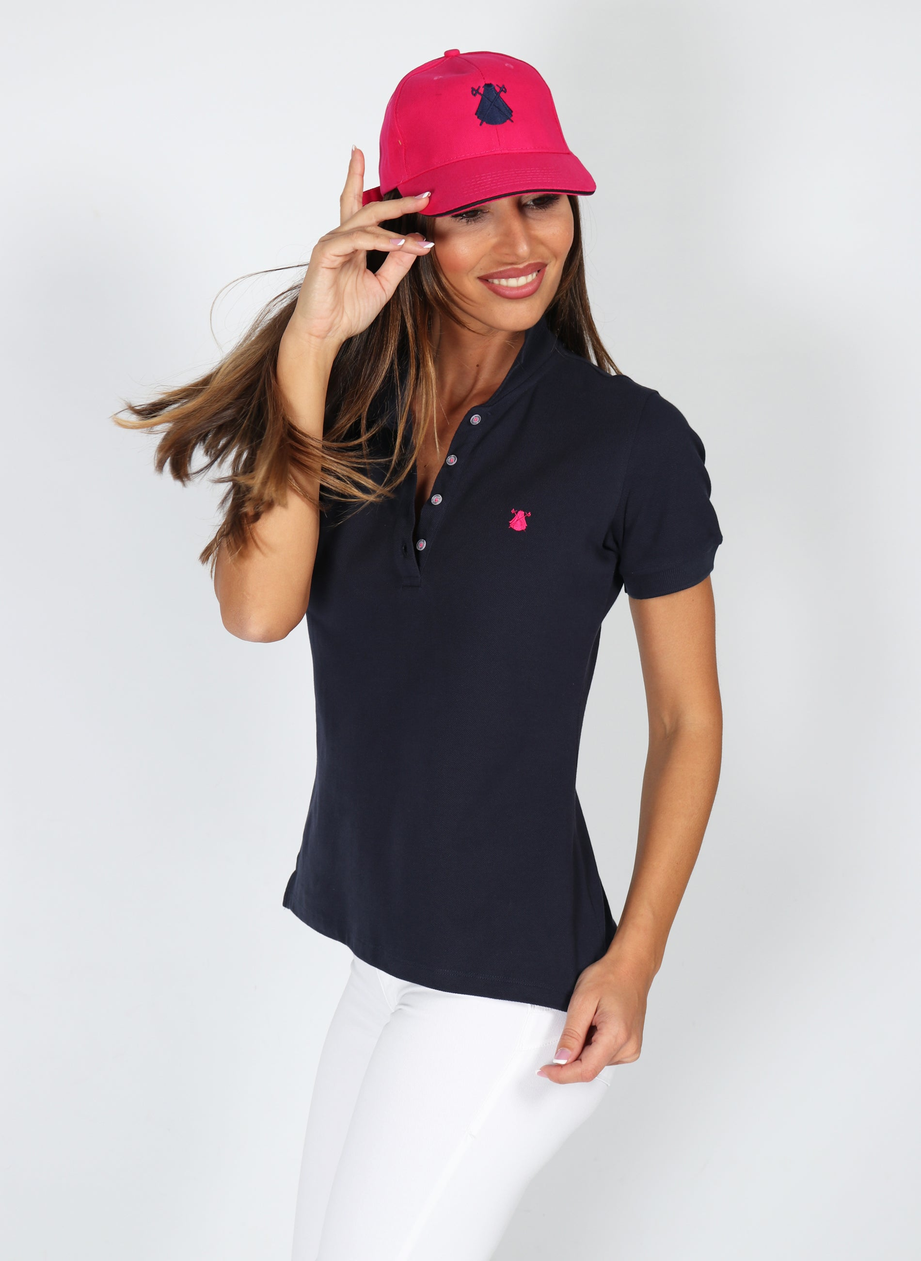 Polo Classic Navy Blue Woman
