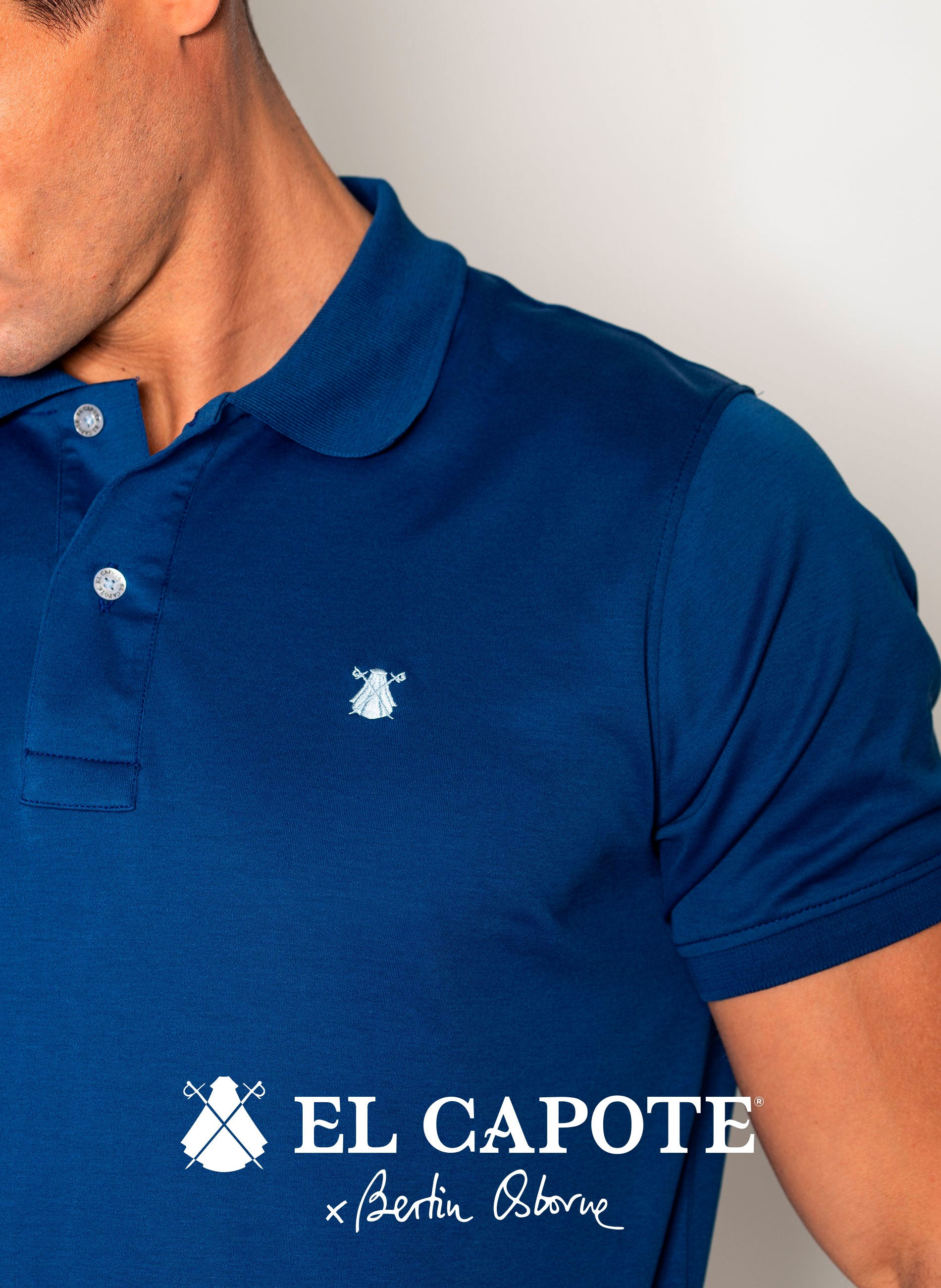 Blue x Bertín Osborne Men's Polo