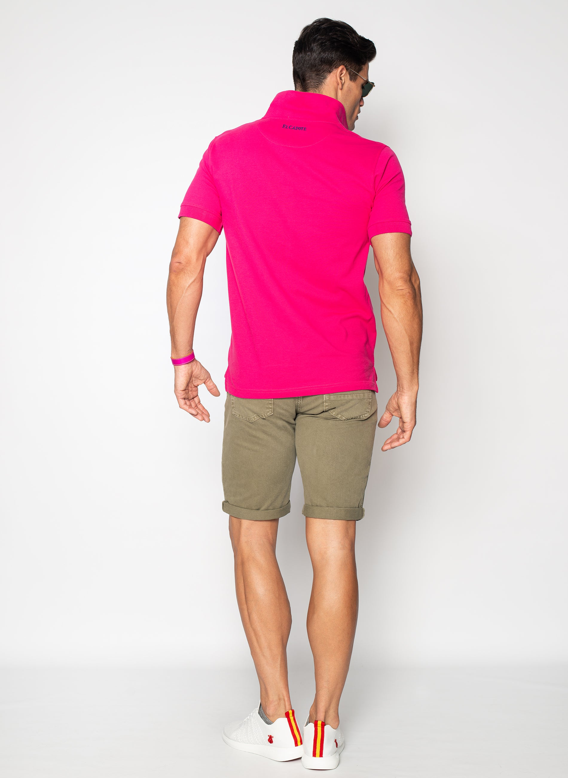 Polo Classic Man Pink Capote
