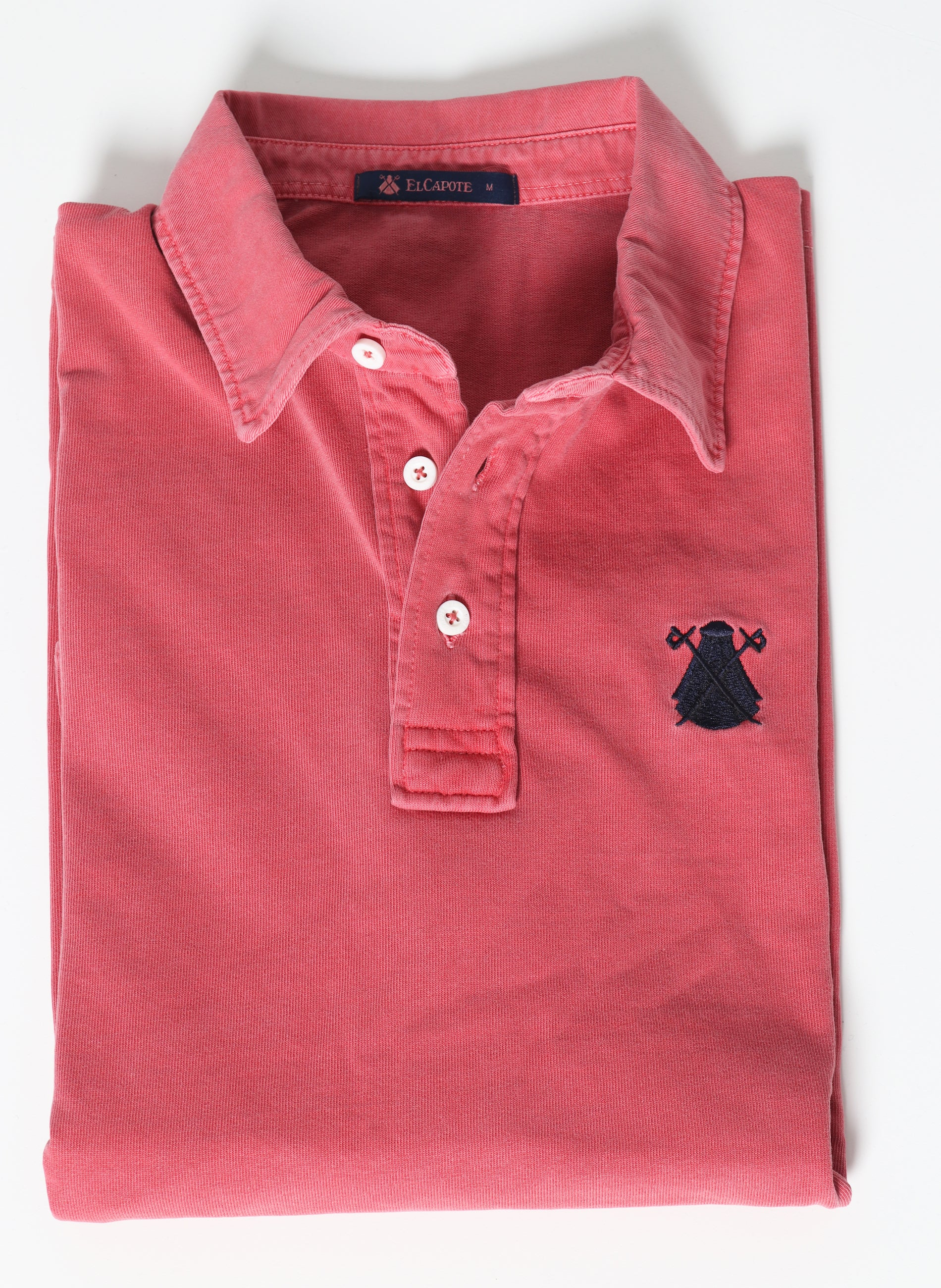 Men's Coral Rugby Polo