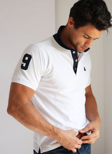 White Polo Number 9
