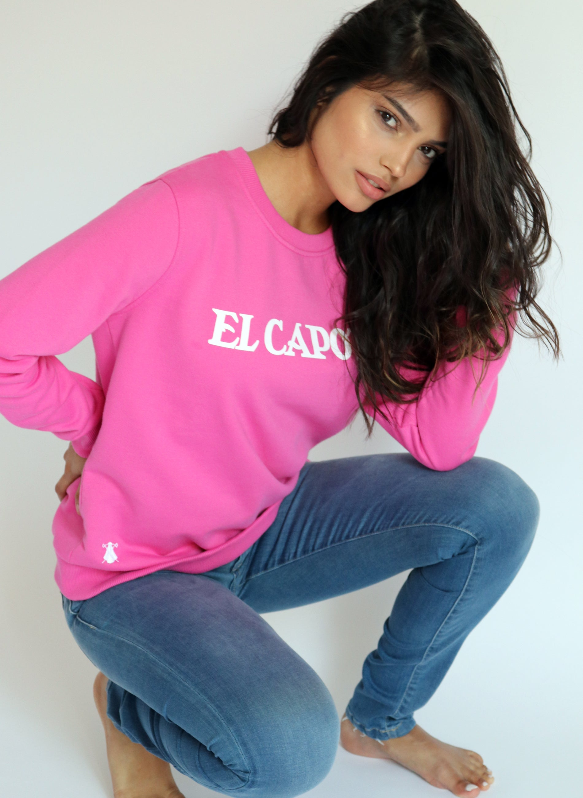 Women's Pink Sweatshirt