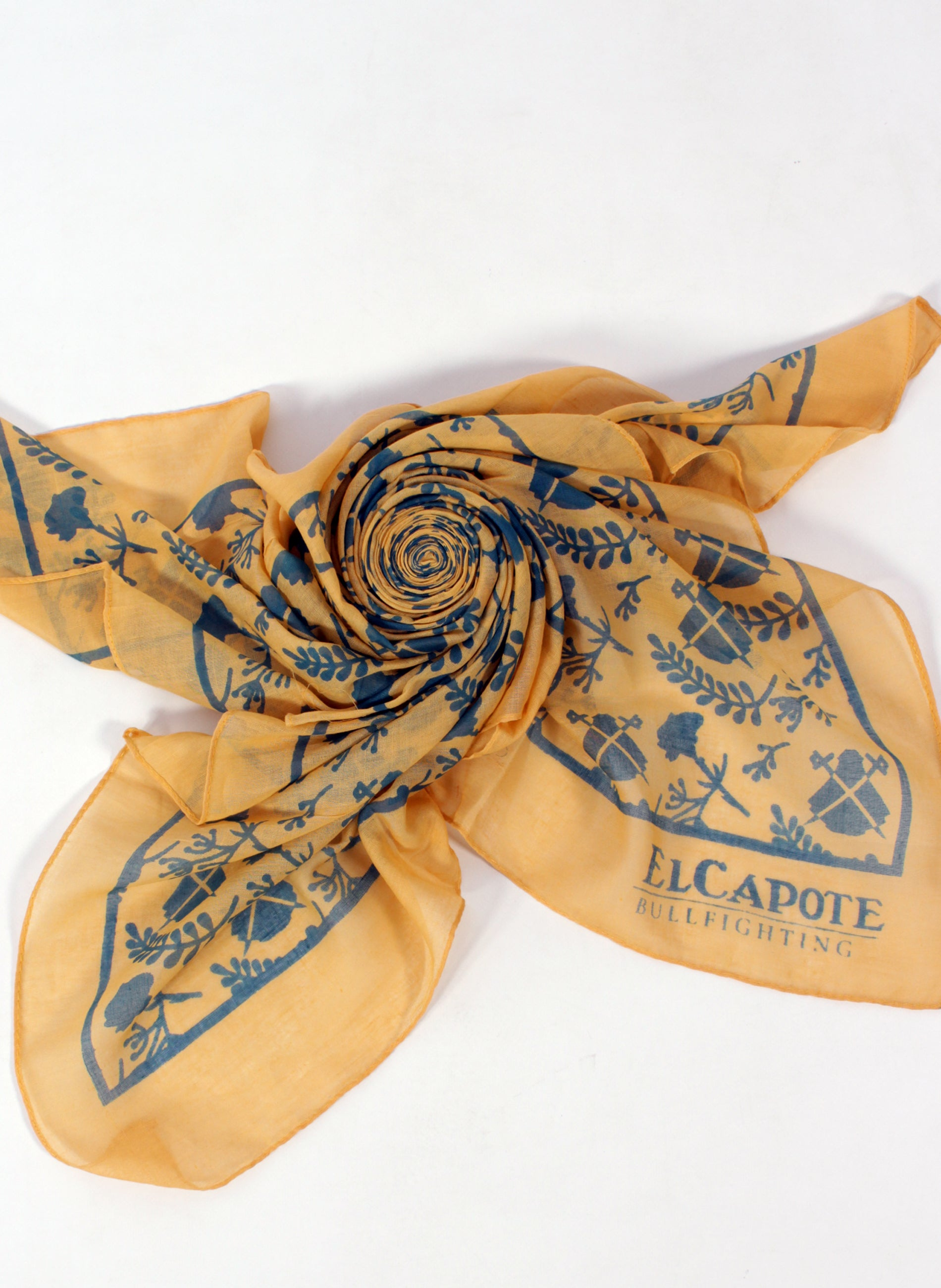 Handkerchief Neck Albero Logos Blues