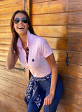 Classic Polo Pale Pink Woman