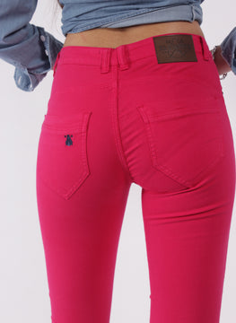 PINK WOMEN'S CAPOTE TROUSERS