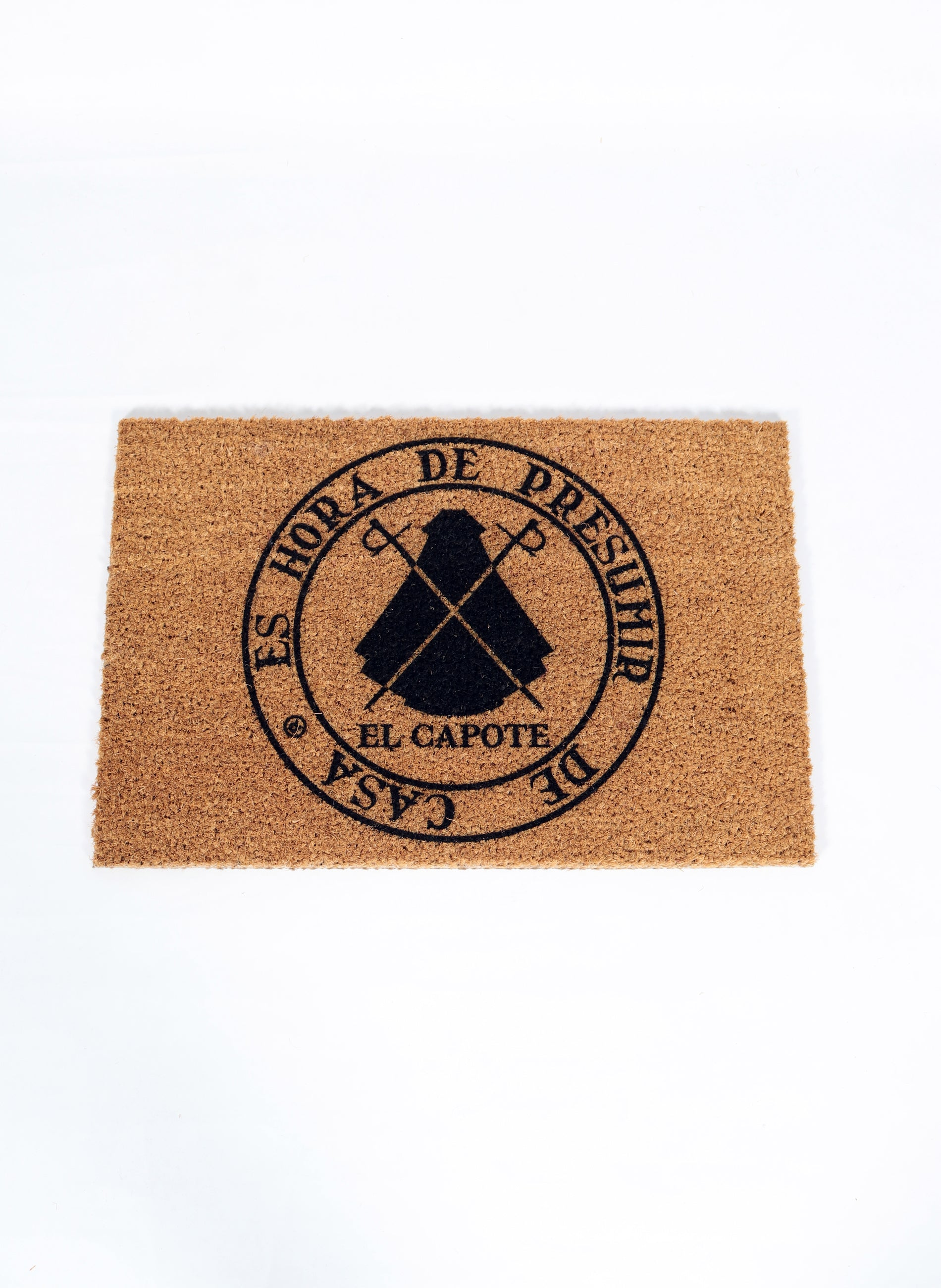 """Coco Doormat """"It's Time to Show Your Home"""""""
