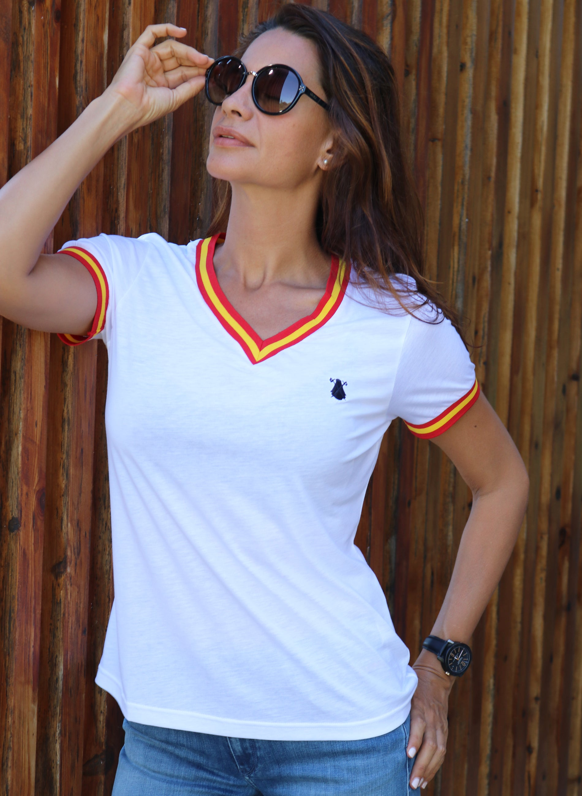 Chemise Blanche Espagne Femme