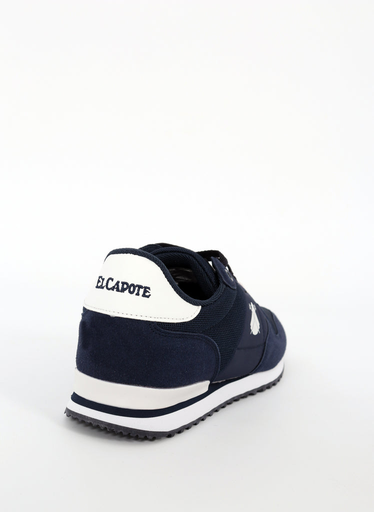 Blue Shoe Logo White