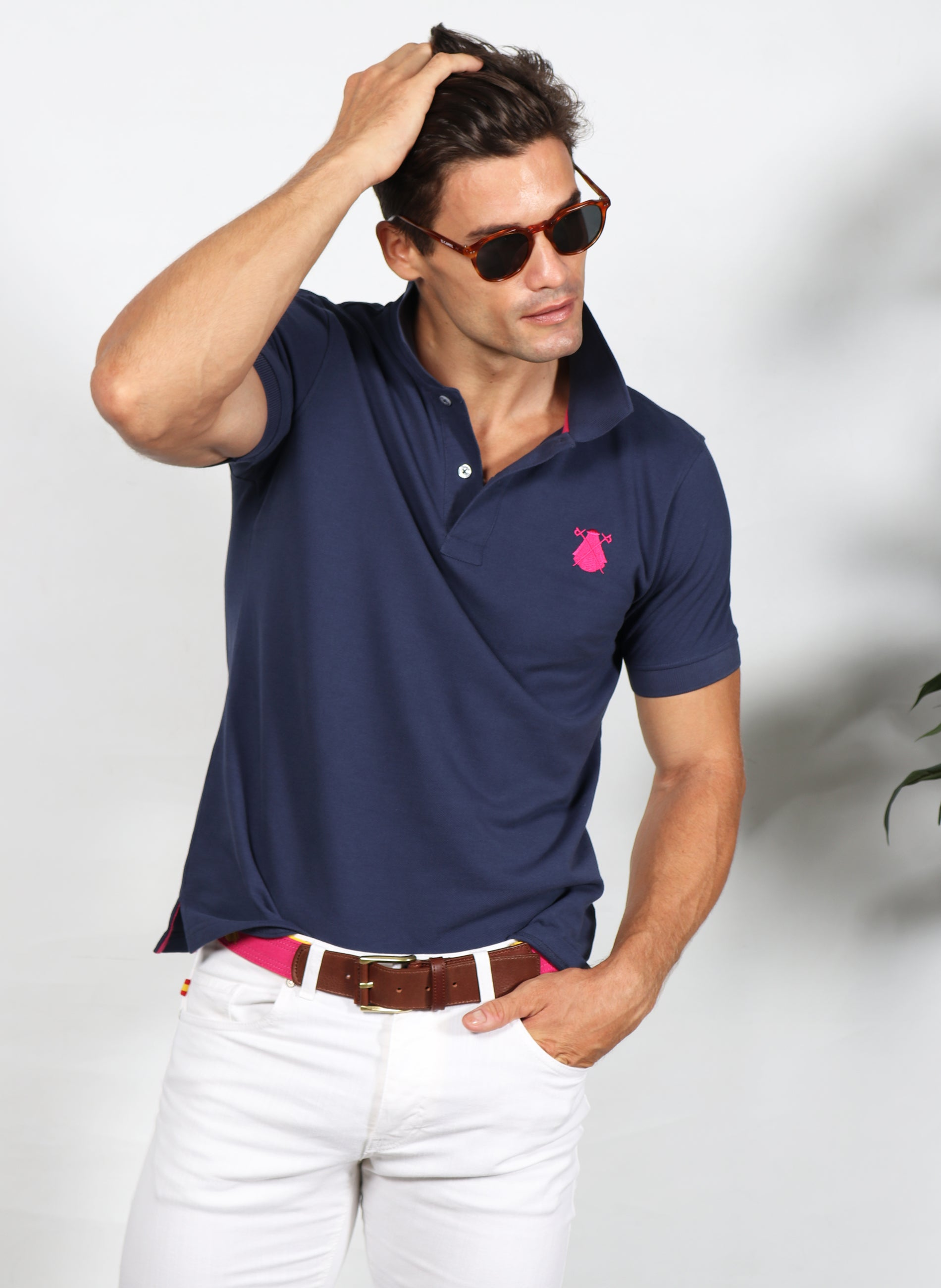 NAVY BLUE NEW COOL POLO