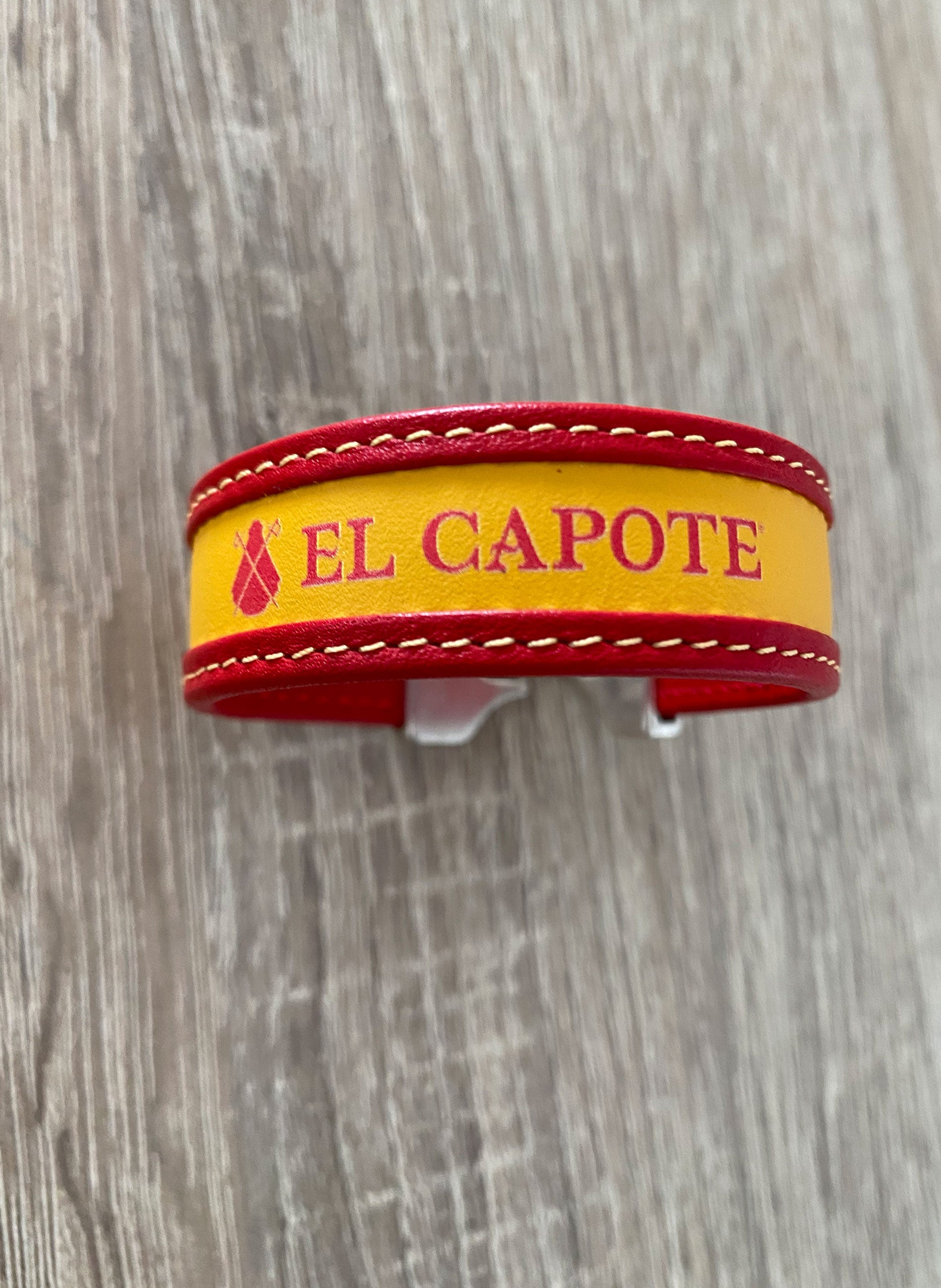 Spain Men's Leather Bracelet