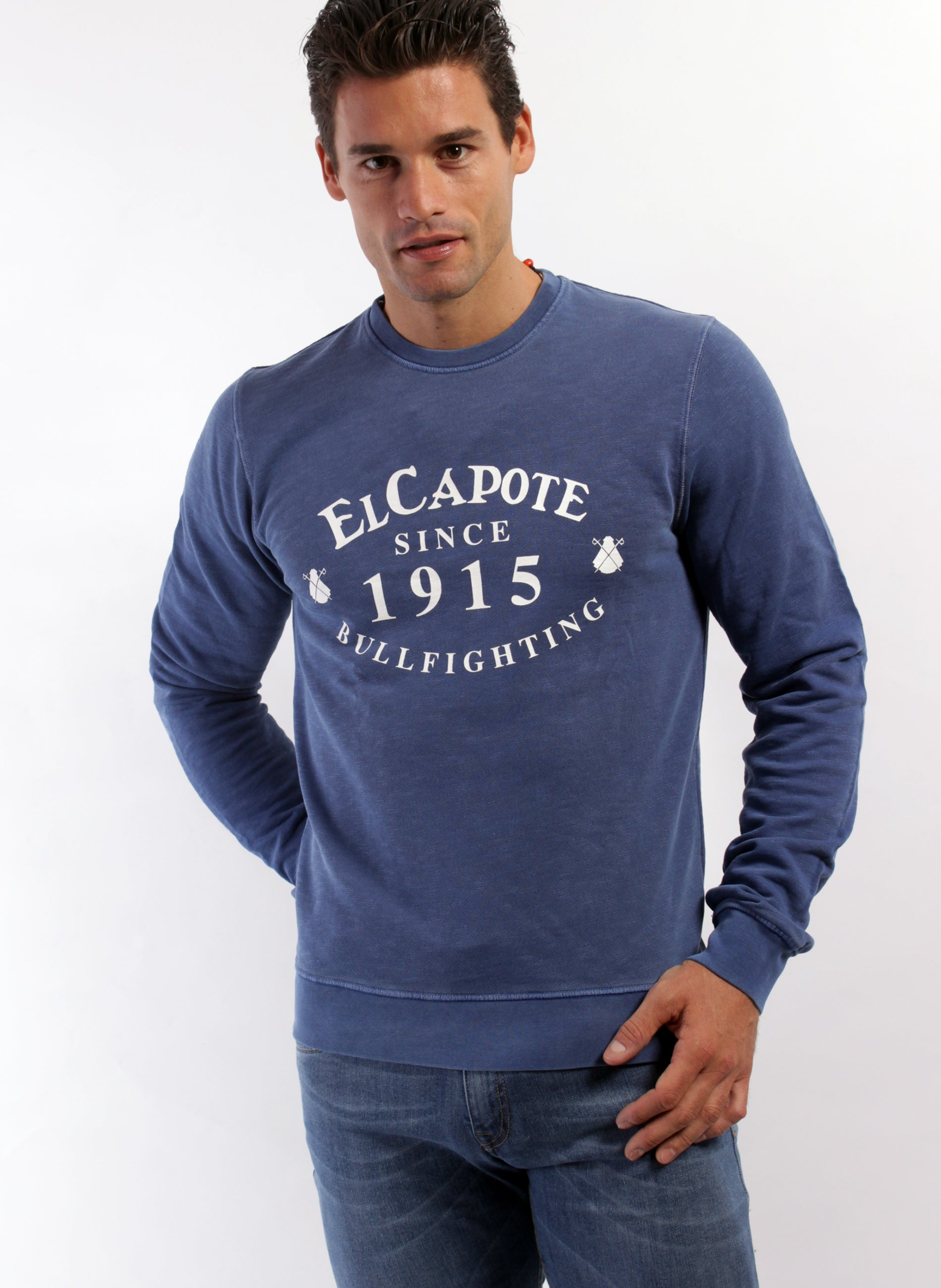 Sweat Bleu Indigo