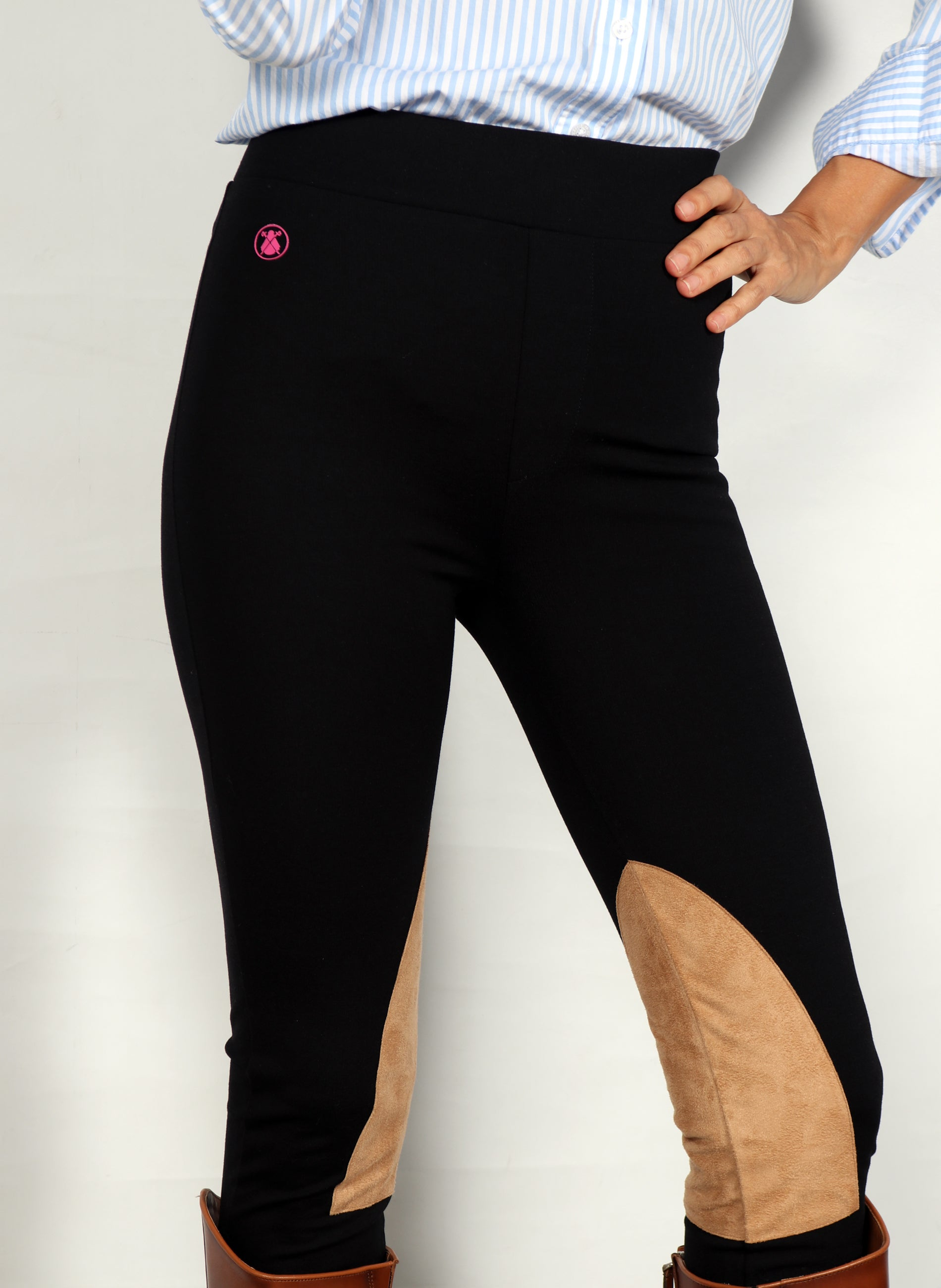 Women's Black Riding Trousers