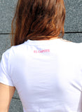 "White T-shirt Woman ""Today I Feel Flamenco"""