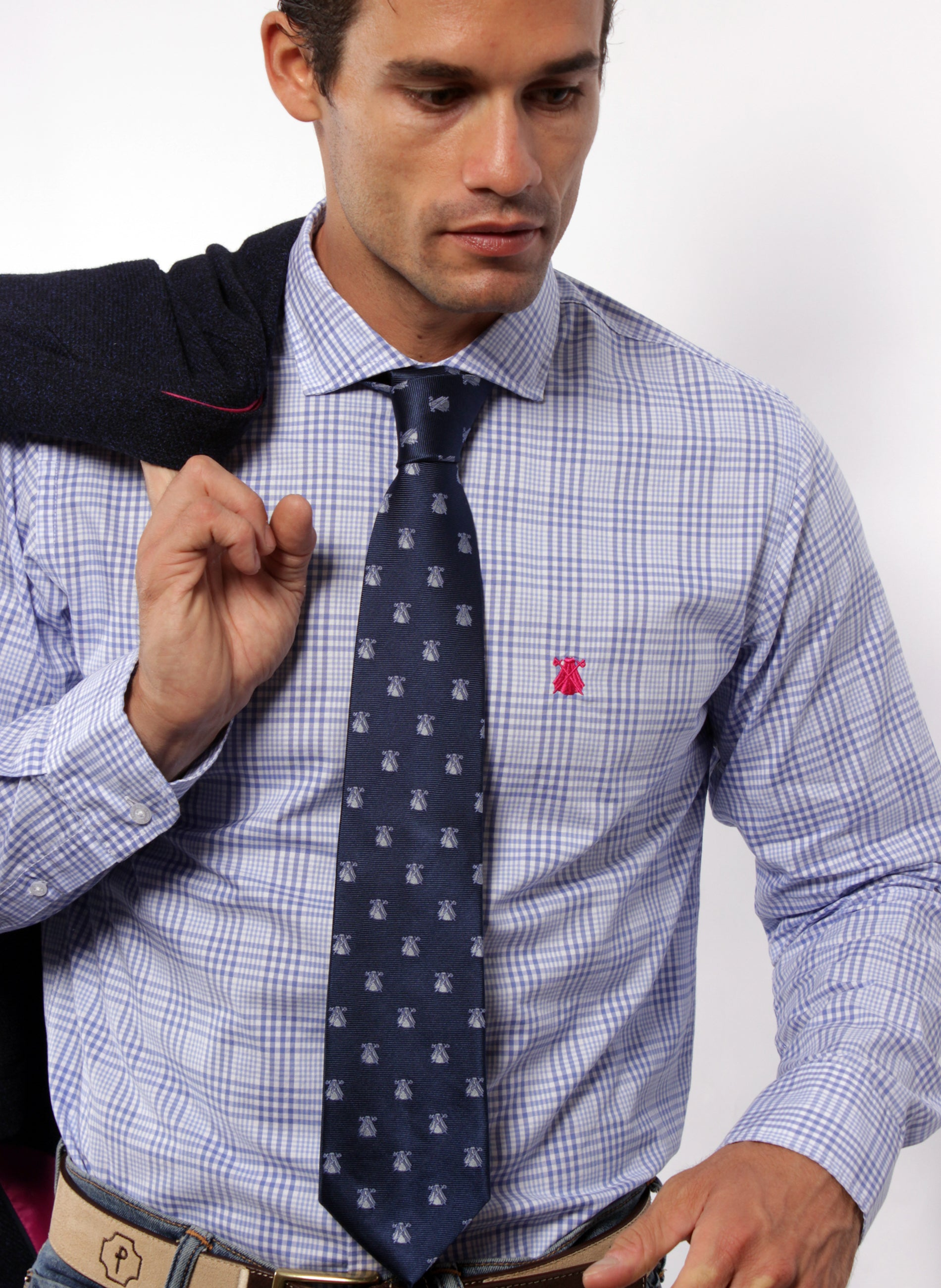 Prince of Wales Blue Shirt