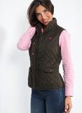 Husky Green Hunting Vest Woman