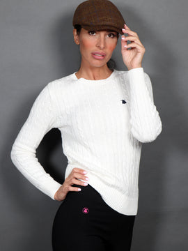 Jumper Woman Eights White