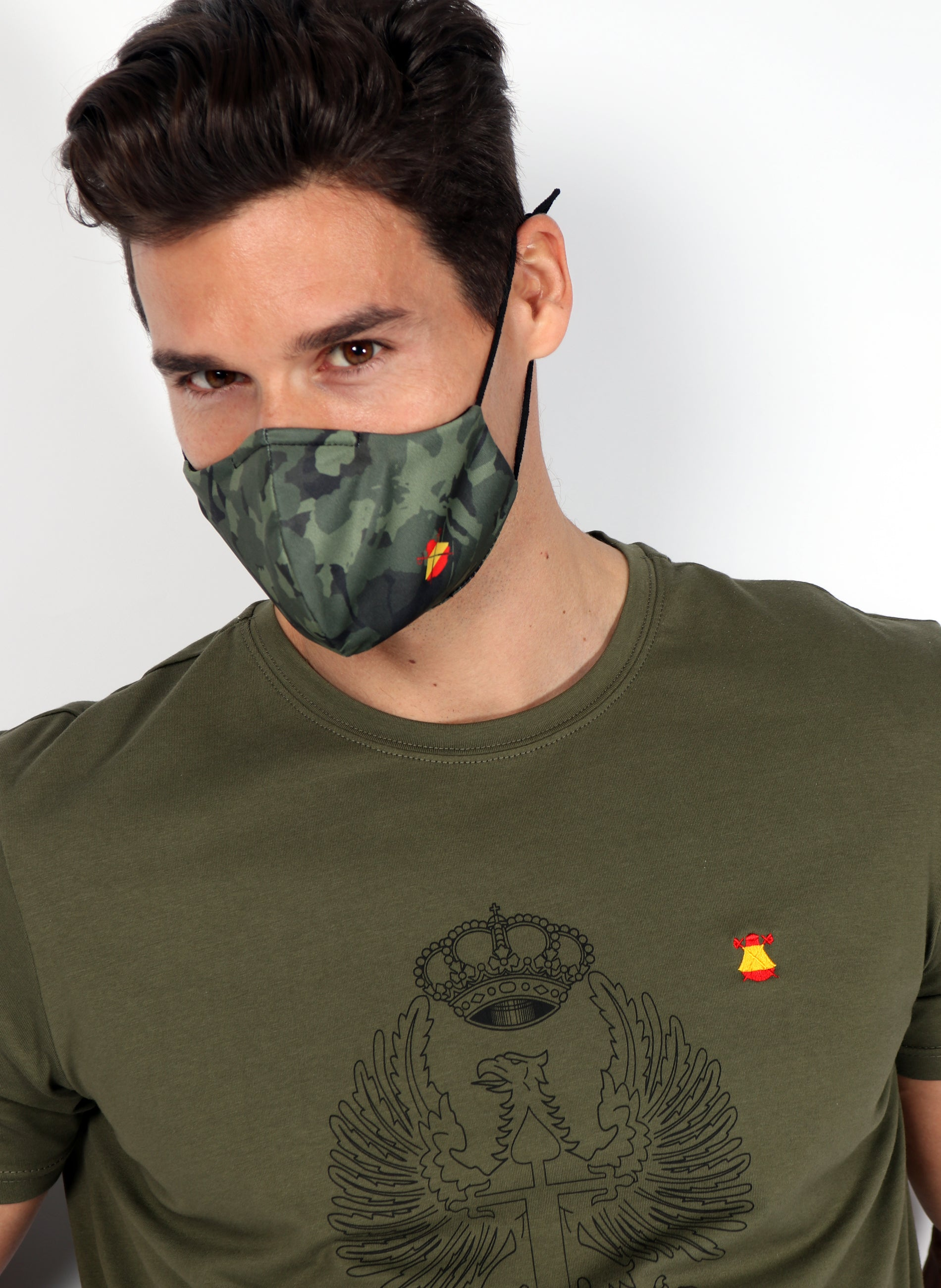 Camouflage Mask Spain