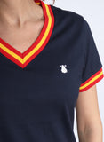 Navy Spain Women's T-shirt