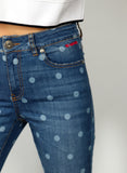 Polka Dot Denim broek