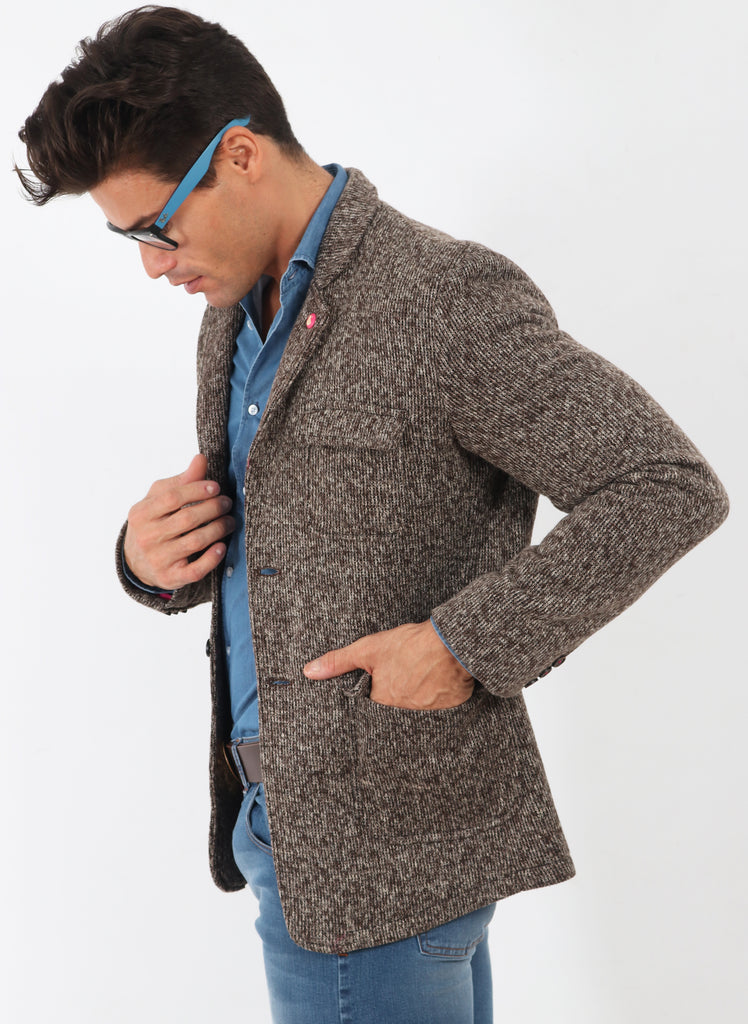 Brown Knit American