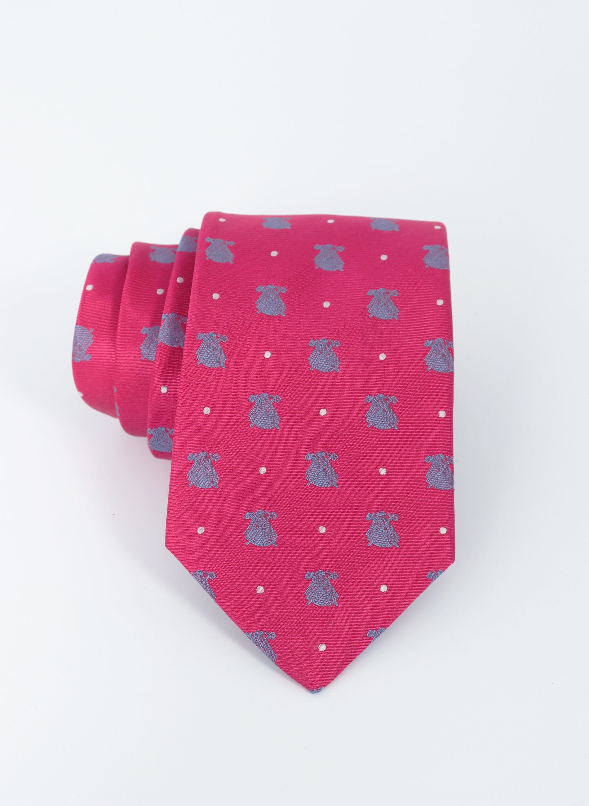 Pink Tie Celestial and White Polka Dots Cloaks