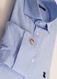 Shirt Man Blue Oxford Cuff Cufflinks
