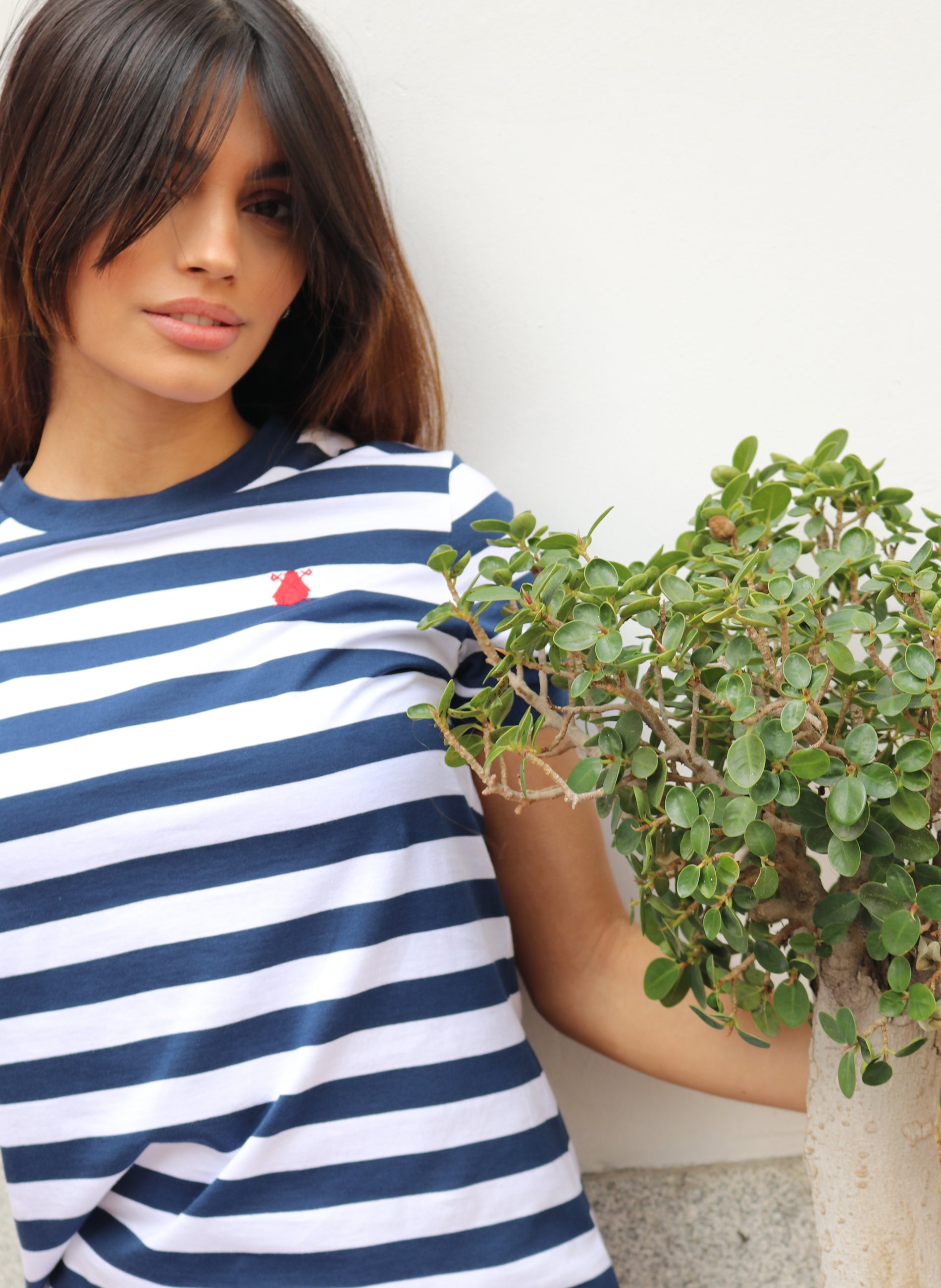 Sailor Striped Damen T-Shirt