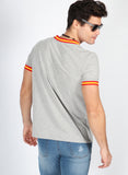 Spanien Herren Grey Ribbon Peak T-Shirt