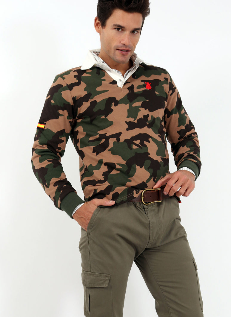 Polo Man Camouflage Spain