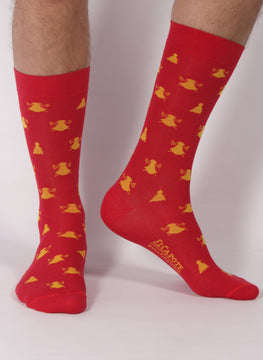 Red Sock Color Males Albero
