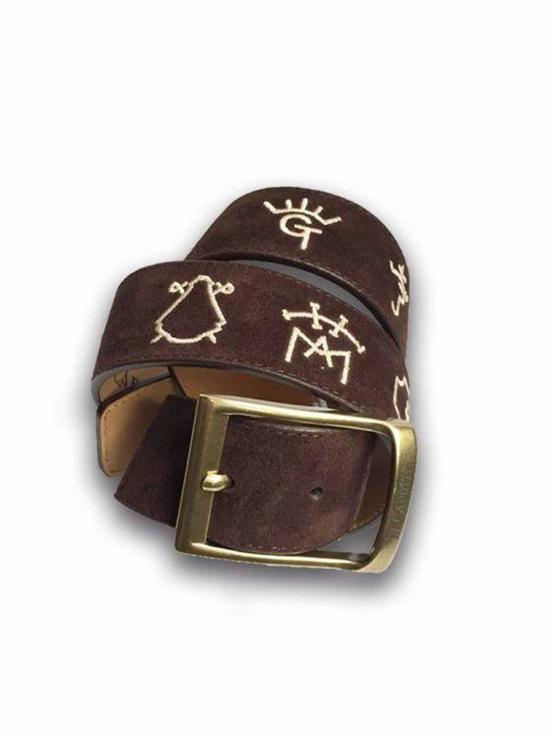Serraje Belt Brown Bullfighters