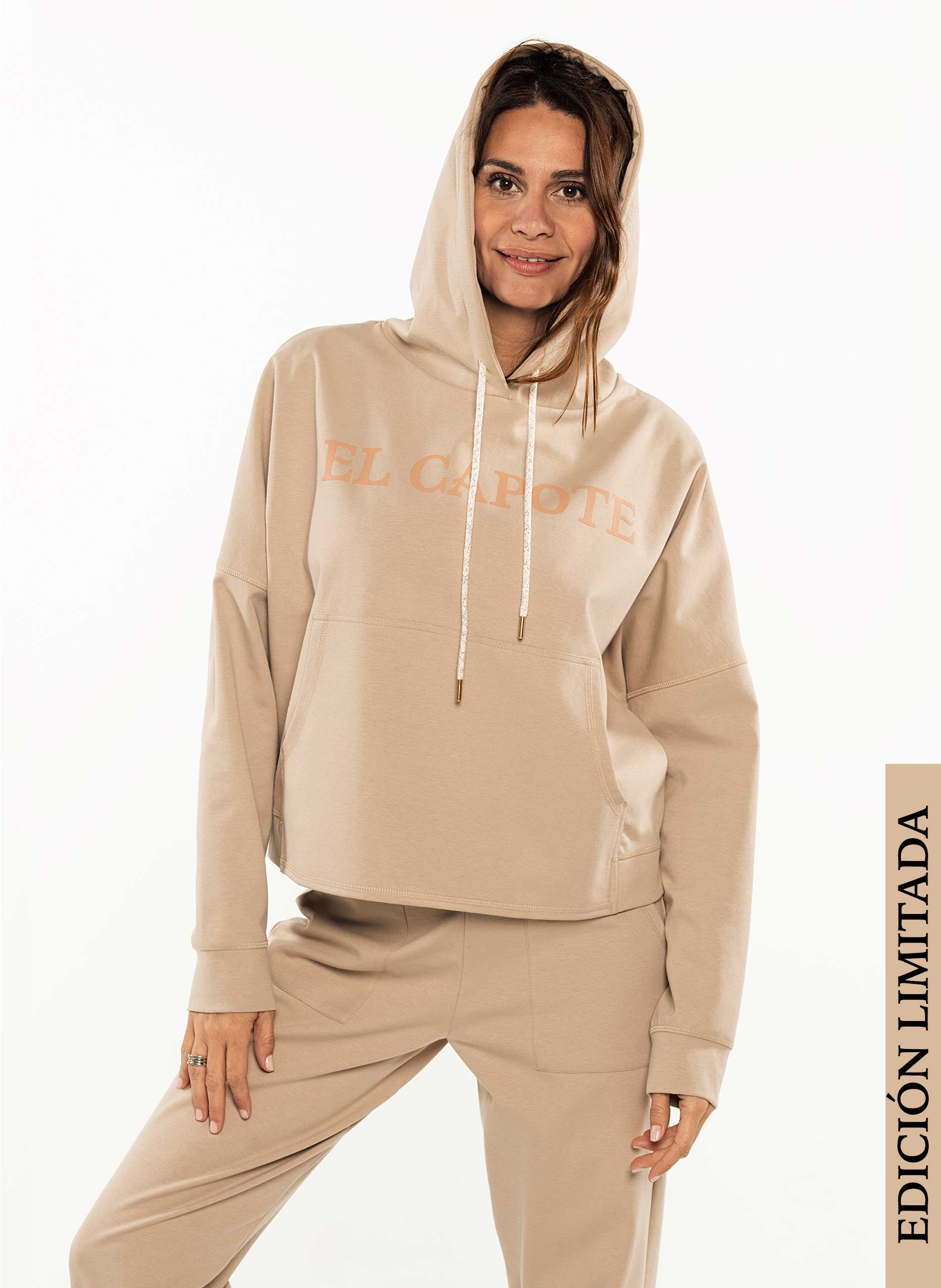 Tracksuit Woman Beige Limited Edition