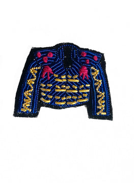 Torero jacket brooch