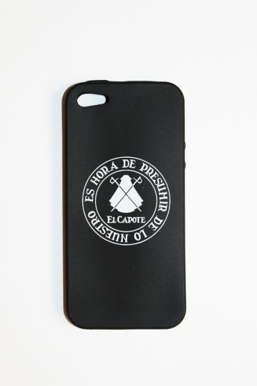 BLACK SILICONE CASE IPHONE 5