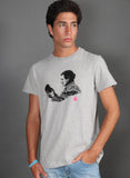 GRAY MAN T-SHIRT