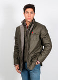 Men's Green Hunting Parka