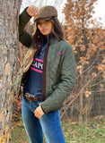 Husky Long Sleeve Woman Green Hunting