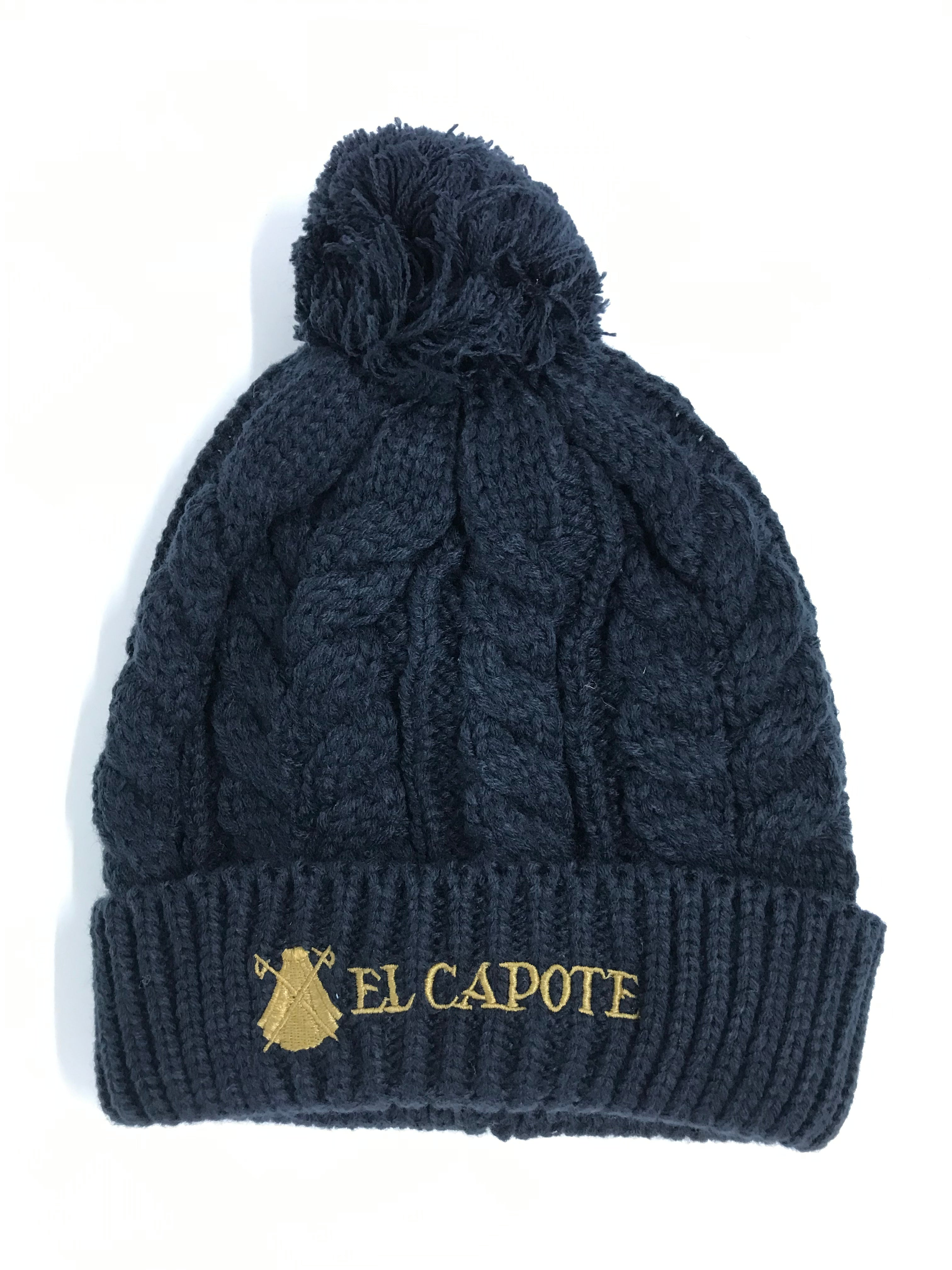 NAVY BLUE WOOL CAP