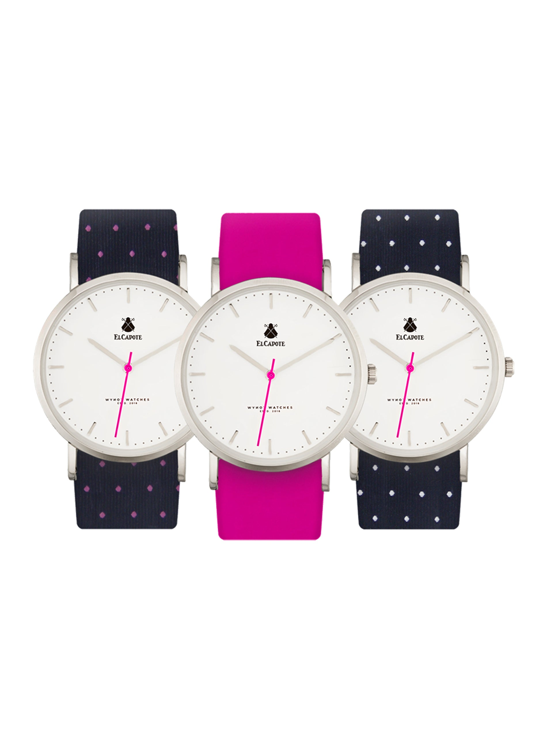 CLOCK BUTTON WATCH UNISEX EL CAPOTE