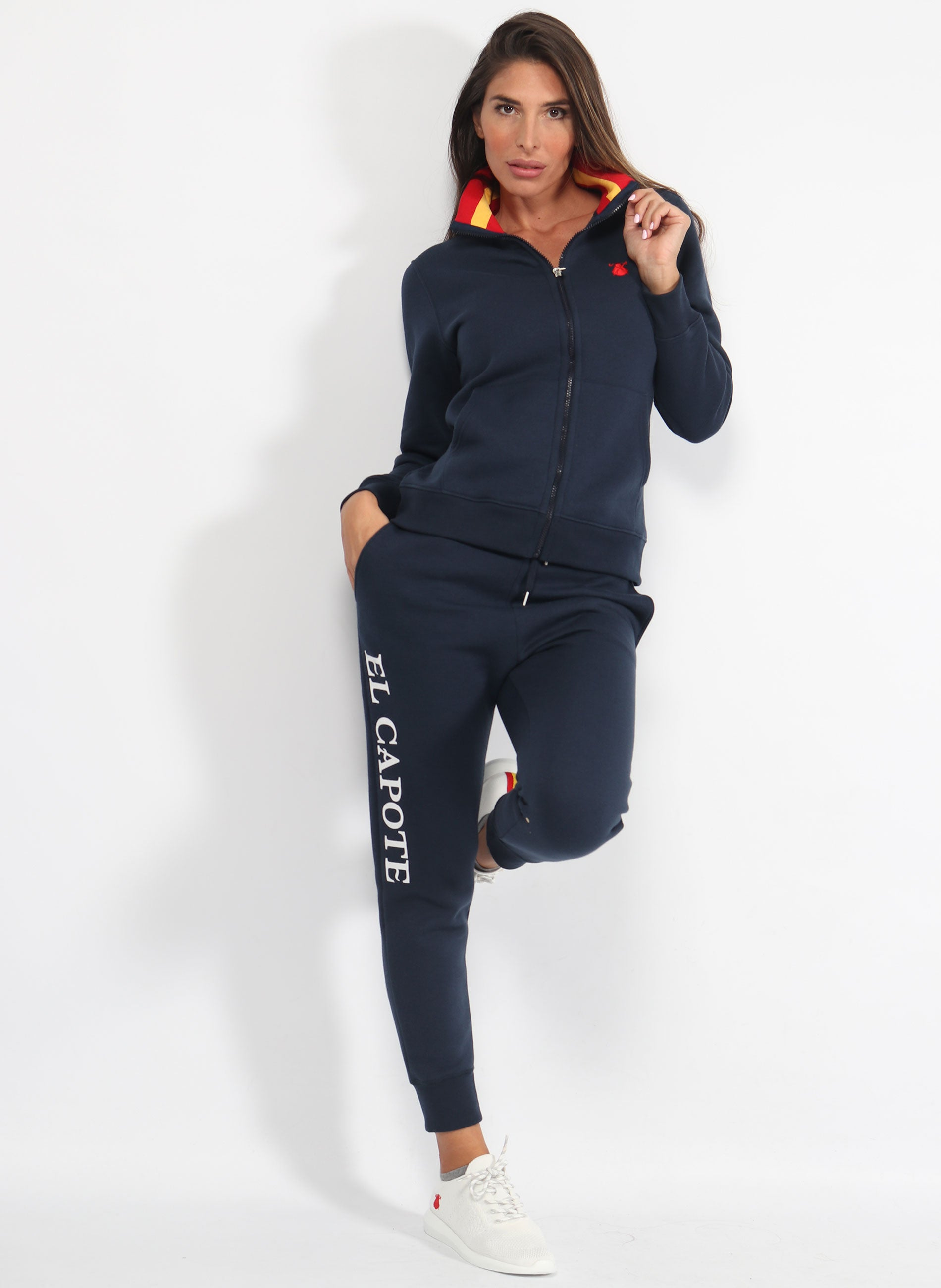 Tracksuit Woman Navy Blue Spain