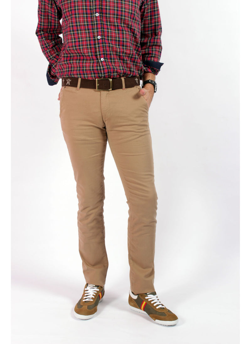 muy agradable cf999 20f30 CAMEL TOASTED CHINESE MAN TROUSERS