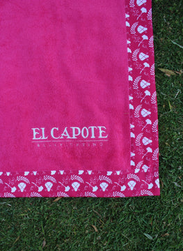 Serviette Capote Rose