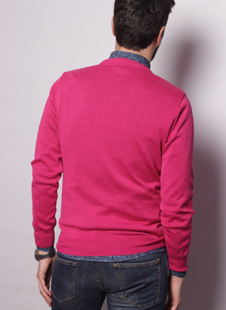 PINK CAPOTE JERSEY