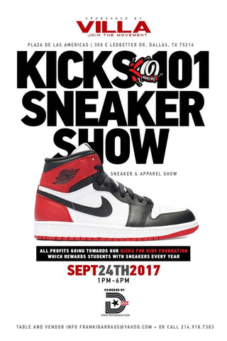 Kicks 101 Sneaker Event Dallas Texas