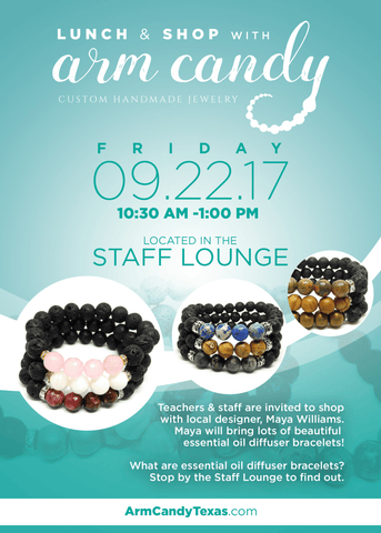 Essential oil diffuser bracelet event denton dallas texas