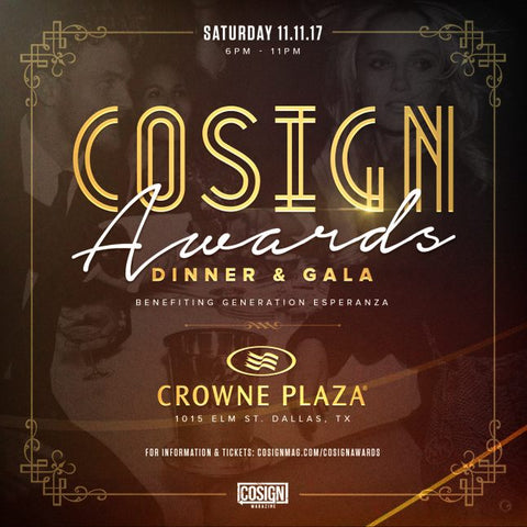 cosign magazine awards and gala dallas texas