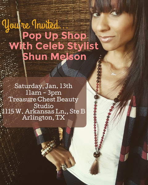 Dallas Pop Up Shop shopping fashion