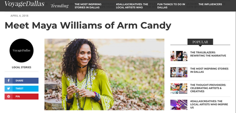 fashion news dallas arm candy accessories business entrepreneur