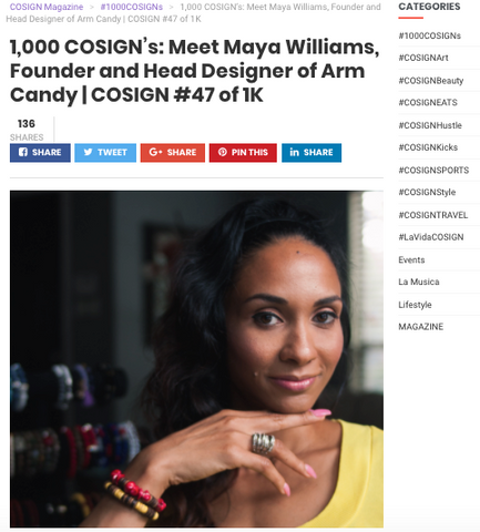 cosign magazine dallas fashion entrepreneur accessories
